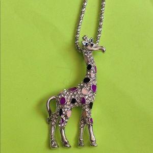 Betsey Johnson giraffe necklace